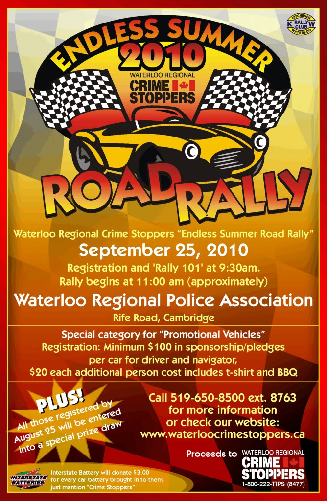 Car Rally Fundraiser